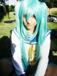 My Hatsune Miku Cosplay by x-Alone