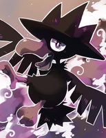 Murkrow by PinkGermy