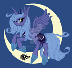 Princess Luna by desideraht