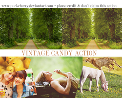 Vintage Candy Action by puckrietveld