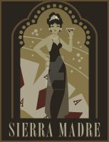 Sierra Madre poster (Fallout: New Vegas) by IStabHotLava