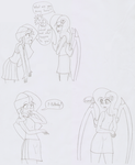 An unfinished comic by TheWanderer93
