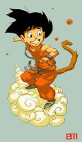 Goku Colored by bigmac996