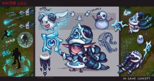 Winter Wonder Lulu concept - KNKL by Knockwurst