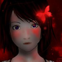 Crimson Butterfly by Devilish0Kisa