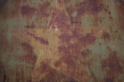 Military Rusted Star by RapidYak