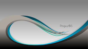 PinguyOS Waves by t-dgfx