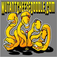 Mutant Cheese Doodle by grfxjams