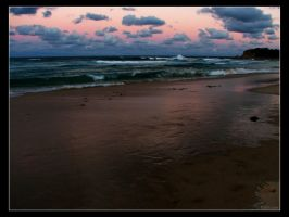 Narooma Beach Sunset by mercyop