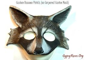 Custom Raccoon Mask... by che4u