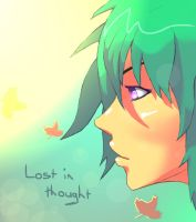 Lost in thought by Zinglish