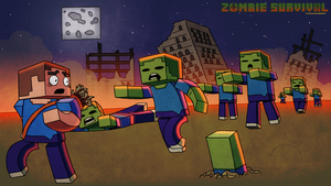 Zombie Survival by Boshirexman123