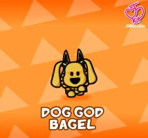 Dog God Bagel by JinxBunny