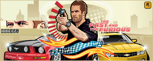 The Fast and the Furious Brian by akyanyme