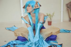 Sona Cosplay (from League of Legends) by TheSweetAmy