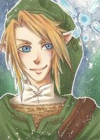 ACEO#10 Link and Navi by TabiiToast