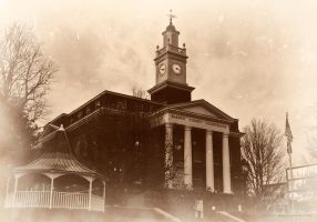 Barren Co Courthouse Vintage by GothicAmethyst