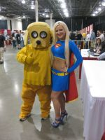 Super Girl 2 With Jake by LotusOfTheLeaf
