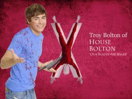 Troy Bolton of House Bolton by k1rby33