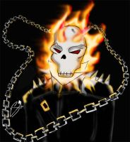 Ghost Rider by Superchica