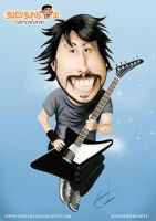 Dave Grohl by endarte