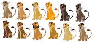 Free Adoptables batch 86 (Closed) by Kitty-of-Doom524