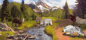 Hunting - Wild Moose Chase by Narhwhal