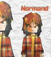 Sketch 2 .: Normand :. by HACKERDNA