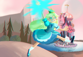 Stars vs the forces of evil by X3carlyX3
