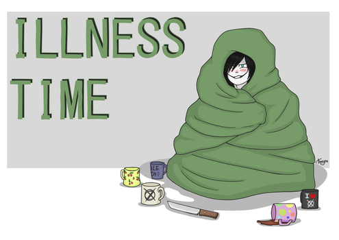 CP: Illness time by ByPanda