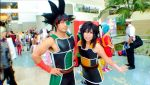 Bardock and Gine Cosplay by Oniakako