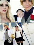 Janna and Ezreal debonair by JuliaJamescosplay94