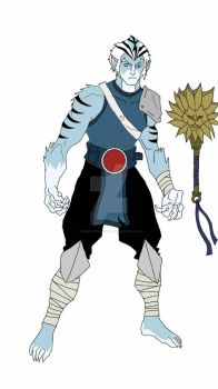 Thundercats Ben-Gali Concept 2011  by THEWHITETIGER97
