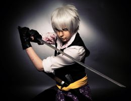 Come and Battle me - Heisuke Todo (Hakuouki) by derpcaro