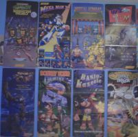 Some of My Nintendo Power Posters by conkeronine