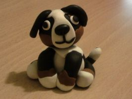 Dog fimo by bimbalove81