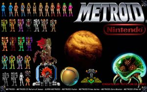 METROID Wallpaper by tr1z1um