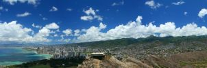 Oahu Panoramic by factorone33