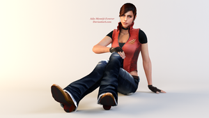 Claire Redfield Render by Kunoichi-Supai