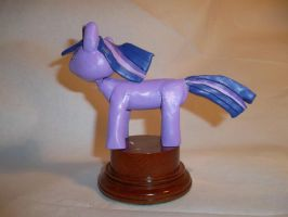 Twilight Sparkle statuette 2 by McMesser