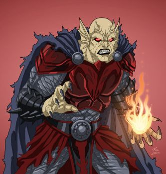 Etrigan (Earth-27) commission by phil-cho
