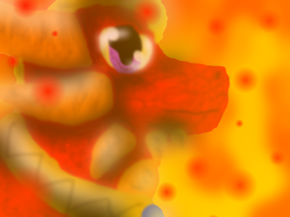 Flare, The Golden Flame by SuperSonicFireDragon