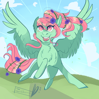 Spring is here -YCH- by Zakkurro