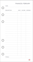 Free Planner Printable: Financial (Feb) by apparate