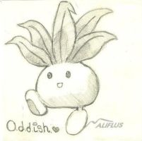 Oddish by 99scribbles