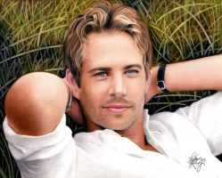 Drawing Paul walker by Heatherrooney