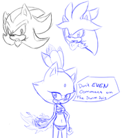 Shadow,Silve,Blaze by HearlessSoul