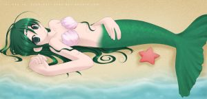 Mermaid by poli-chan