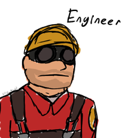 TF2 Engineer by AgentWerehog