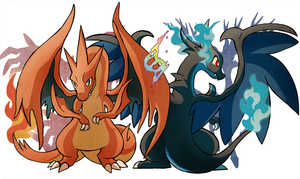 (X+Y) The Mystery of Mega Evolution by SoftMonKeychains